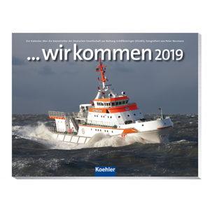 Postkartenkalender ... wir kommen 2019