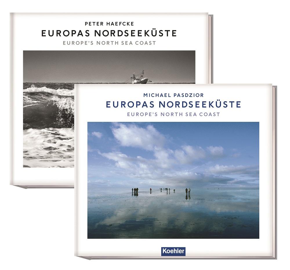 Buchcover Europas Nordseeküste