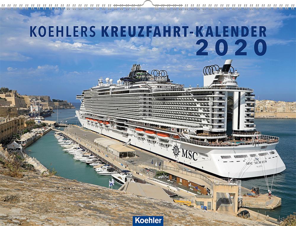 Oliver Asmussen Koehlers Kreuzfahrt-Kalender 2020 Cover Download