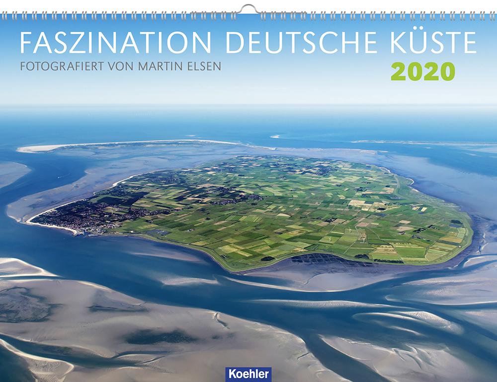 Martin Elsen Faszination Deutsche Küste 2020 Kalender Cover Download